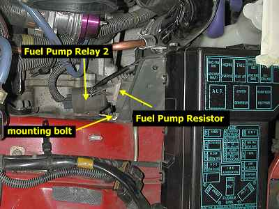 fprbp inplace stealth 316 fuel pump relay resistor bypass Mitsubishi 3000GT VR4 Twin Turbo at crackthecode.co