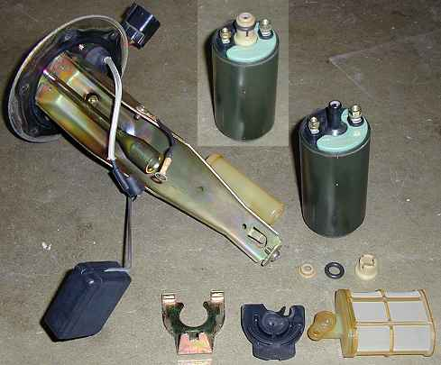 Fuel pump assembly 1